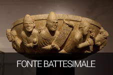 Fonte battesimale romanico